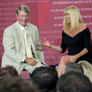 Alan Porter Shares Stage with Suzanne Somers