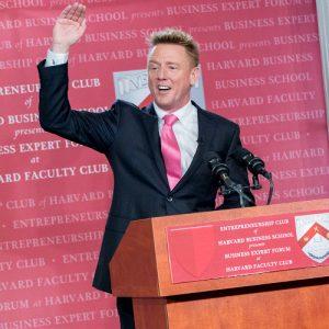 John Rankins Speaks at Harvard